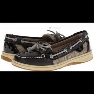 Sperry Black Leather Shoes!